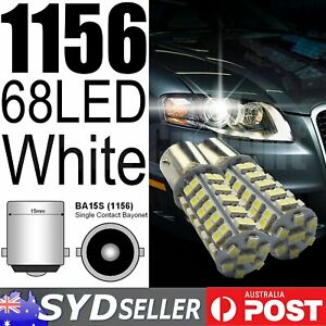 1156 68SMD BA15S P21W 2835 Auto Indicator Brake Turn Stop Park Lamp Replace 2x