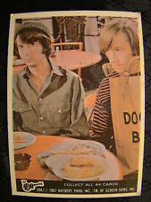 Vintage The Monkees Raybert Trading Card 1967 39 A Michael Peter Eating Donuts