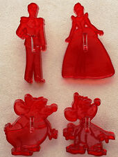 Disney CINDERELLA Cookie Cutters INCLUDING **GUS GUS**