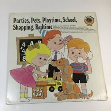 Parties, Pets, Playtime, School, Shopping, Bedtime Golden Records Vinyl LP New
