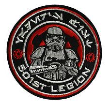 Star Wars - 501st Legion - Stormtrooper -Logo Patch Aufnäher zum Aufbügeln - neu