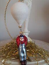 1997 Balloon Boy White Balloon Patricia Breen Glass Christmas Ornament 11.75