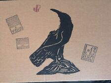 Billy Childish Jackdaw limited edition screen print nod 2/10 stamped low edition