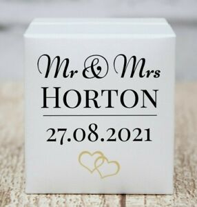 Personalised Wedding Ring Box, Custom Ring Bearer Box, Proposal Box, Gift