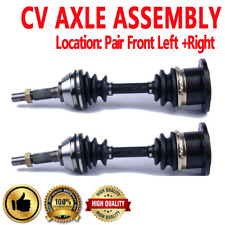 FRONT LEFT & RIGHT CV Axle Shaft For CHEVROLET BLAZER S10 LS 4WD