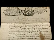 1689 Autographed and Handwritten Document