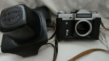 vintage ZENIT -E  RUSSIAN CAMERA (USSR ) BODY 35 MM EXELENT CONDITION