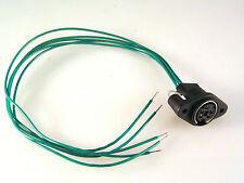 PS2 Style Circular Wired Panel Socket Range 3 4 5 6 & 8 way EB58