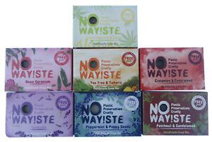 Soap Bars - VEGAN , Eco  NO WAY!STE Cruelty Free no plastic,preservatives