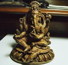 Hindu-Ganesha-mold/carving elephant head ,121x100x75mm,1608.84ct,11.35oz,CAR-A23