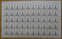 Berlin 640 LUXUS Bogen Karl Schinkel postfrisch Full sheet MNH Formnummer 1