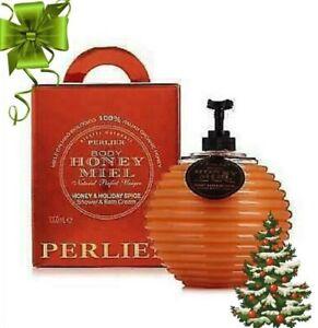 Perlier Body HONEY MIEL Honey & Holiday Spice SHOWER BATH CREAM 33.8 oz NIB