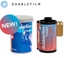 2 x NEW 36exp ! dubblefilm STEREO 200 ISO 35mm 135 Color Negative Film - US