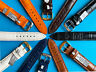 Uhrband, Uhrenband Louisiana Kroko Kalb 16,17,18,19, 20mm 6 Farben
