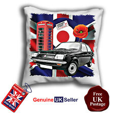 Chevette Hatchback Cushion Cover, Classic Chevette Cushion Cover Can Personalise