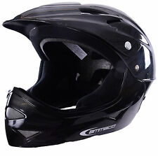 FULL FACE BMX DOWNHILL KIDS BIKE HELMET MINI MOTO/MOTOCROSS/QUAD BIKE STYLE LID