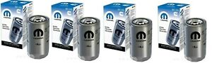 90-18 Dodge Ram Cummins Diesel Engine Oil Filters 6.7L 5.9L Mopar Oem Set of 4