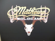 "Mathews decal skull 17""W x 13"" H"