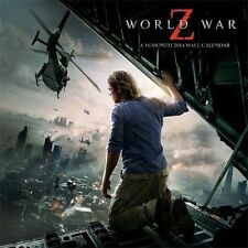 "World War Z 2014 Calendar, 11.5"" x 11.5"""