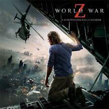 """World War Z 2014 Calendar, 11.5"""" x 11.5"""""""