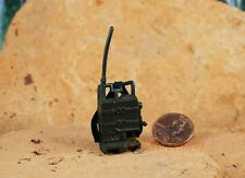 G20_E GI Joe 1:18 Action Figure 3.75 Backpack Walkie Talkie Radio Communcation