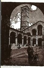 #MILANO: LA CHIESA DI SANT'AMBROGIO - EDIZ. BUSETTO