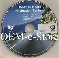 2008 2009 BMW X3 E83 On Board Navigation DVD Map High Version 2007.2 U.S Canada