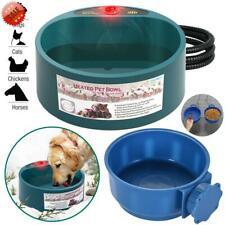 Pet Cat Dog Heated Water Bowl Automatic Constant Temperature Heating Food Basin
