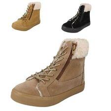 Faux Suede Shoes Girls' Winter Zip