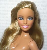 (A11) ~ NUDE BARBIE BLONDE BLUE EYES MILLIE MODEL MUSE MOSCHINO DOLL FOR OOAK
