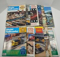Vintage 1989 Model Railroader Magazine Lot Of 11