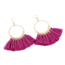 Fashion Tassel Earrings for Women Big Fringe Earings Ethnic Hanging Drop Earring