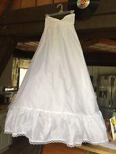 Formal Length Size 8 Slip with Tulle Underlayer - Bridal or Wedding