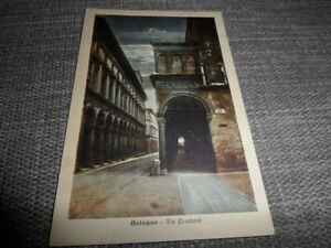Bologna Via Zamboni   ITALY    Posted 1924       Vintage POSTCARD GOOD CONDITION