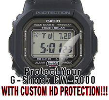 For Casio G-Shock GW 5000 HD Clear Crystal Protector Anti Scratch Set of 2