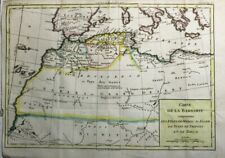 1788 Nice Brion de la Tour Map of North West Africa