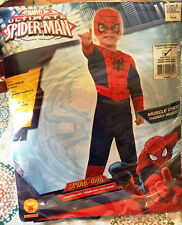 Rubies Marvel Ultimate Spider-Man Child Halloween Costume Toddler Size 2-4 New!