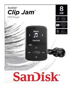 SanDisk Sansa holds 2000 Songs Black Clip Jam 8GB MP3 Player with FM Radio -UK