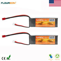 2x 3S 11.1V 1800mAh 25C LiPo Battery Deans for RC Car Airplane Helicopter Hobby