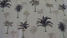 SHOWER CURTAIN  Tropical Trees Palm Medium Heavy