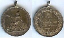 Médaille de prix - SOREZE prix de l'école Dominique CLOS 1816 Louis XVIII