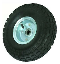 New listing LOT OF 2 10 in Haul-Master Pneumatic Tire Wheel GO CART 4.10/3.50-4 KNOBBY TREAD
