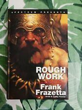Frank Frazetta - Rough Work - concept art, doodles, sketchbook, drawings - 2007