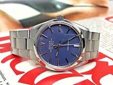 VERY RARE vintage MATTE BLUE dial 1987 ROLEX AIRKING 5500 Automatic Men's Watch