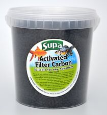 Carbón Activado Para Interior & Exterior Acuario Y Estanque Filtros 1 Litro ~ 500g
