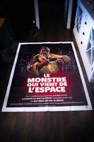INCREDIBLE MELTING MAN 4x6 ft Vintage French Grande Movie Poster Original 1977