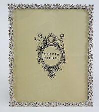 "Olivia Riegel Princess Picture Photo Frame with Swarovski crystals stones 8x10"""