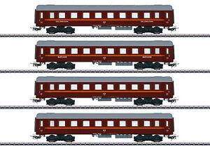 Märklin 41921 Personenwagen-Set Tin Plate 4-teilig passend zu 30302 #NEU in OVP#