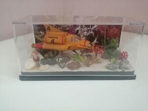 Konami TB4 thunderbirds gerry anderson in display diorama