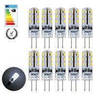 10x G4 Stiftsockel Glühbirne 1.5W 24 LEDs Leuchtmittel DC 12V Kaltweiß